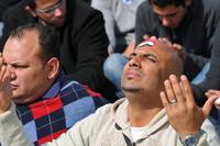 Prayers in Tahrir Square