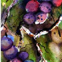 Cabernet Harvest 2 Art Prints & Posters by Marti Green