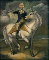 George Washington On A Unicorn