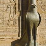 """Statue of the Egyptian god Horus"" by ChristopherByrd"