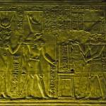 """Egyptian temple bas relief"" by ChristopherByrd"