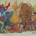 """""""Sesame Strange"""" by MikeDubisch"""
