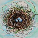"""The Botanical Bird Nest"" by ElizaArt"