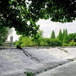 """River Derwent Weir, Derby (18190-RDA)"" by rodjohnson"