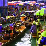 """Floating Market bangkok"" by SophieArt"