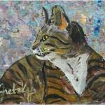 """Pablo Cat"" by paintingsbygretzky"