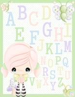 Rhyanna Alphabet Wall Art