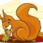 """squirrel"" by cartoonfactory"