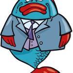 """big fish"" by cartoonfactory"