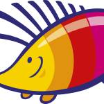 """rainbow hedgehog"" by cartoonfactory"