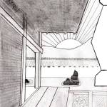 """Zen Sumi Rock Garden Original Ink"" by Ricardos"