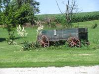 Scene from Days Gone By -  Illinois Countryside