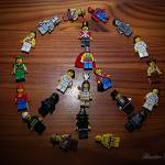 """5/365/2011 Lego peace"" by BaxterDesigns"