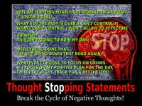 Thought Stopping Poster