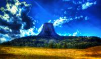 distant devils tower