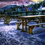 """rocky mountain ski lodge"" by rinthcog"