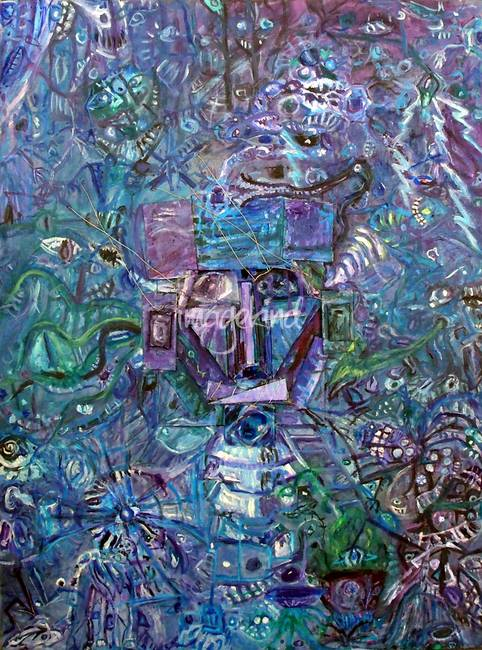Stunning quot schizophrenic quot artwork for sale on fine art prints