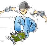 """Skateboard Flyin"