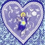 """Cosmic Jesus Valentine"" by jgwhitney"