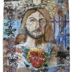 """Jesus with Burning Heart"" by jgwhitney"