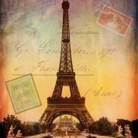 La Tour Eiffel - L'Histoire Art Prints & Posters by Kristen Stein
