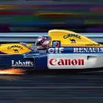 """Nigel Mansell Wiliams"" by davekyte"