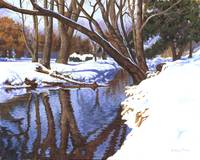 Snow and the Creek