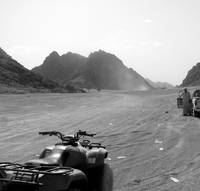 Egyptian Desert Quad Biking