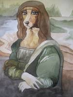 Mona Lisa Dog