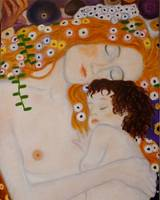 Mother and Child-Gustav Klimt