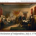 """""""Declaration Of Independence, July 4, 1776"""" by rmeslinger"""