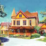 """The Christian House Old Town San Diego"" by BeaconArtWorksCorporation"