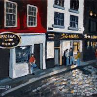Temple Bar Dublin Art Prints & Posters by Robert Holewinski