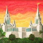 """San Diego Temple"" by KessingerKlassics"