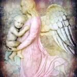 """""""My Guardian Angel"""" by kristensteinfineart"""