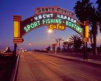 Santa Monica Pier at Twilight