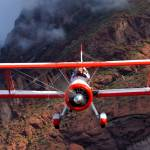 """Stearman & Superstition Mountains"" by BrentC"