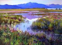Evening in the Marsh
