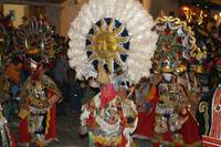 Mayan Sun Dancer in Guatemala