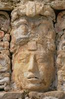 Unkown King or Shaman of Palenque Stucco