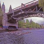 """Two Eights on Montlake Cut"" by Stewart"
