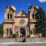 """Santa Fe - Basilica of St. Francis of Assisi"" by Ffooter"