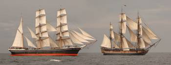 Two Tall Ships