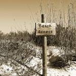 """Beach Access"" by ChristineStonebridge"