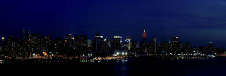 New York Twilight Panorama