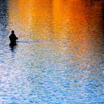 """Lone Fisherman"" by SanjayNayar"