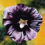 """Purple Hollyhock"" by JamesKnowles"