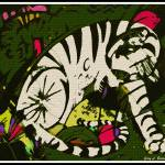"""White Tiger"" by artstoreroom"