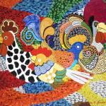 """Chickens"" by artstoreroom"