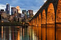Stone Arch Bridge Minneapolis